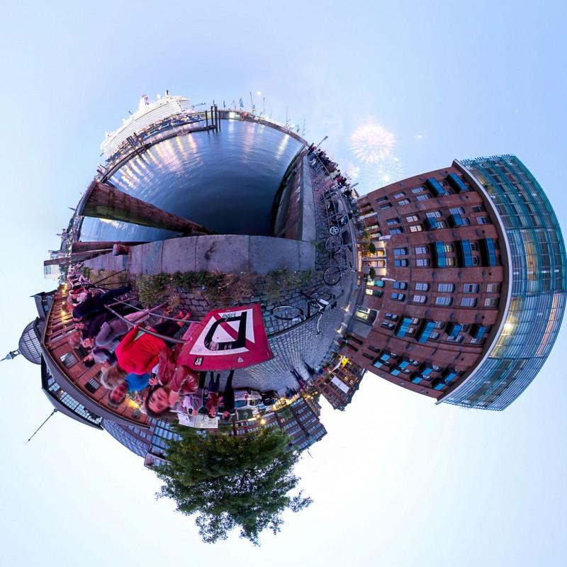 Schiffstaufe der 'Mein Schiff 3' in Hamburg