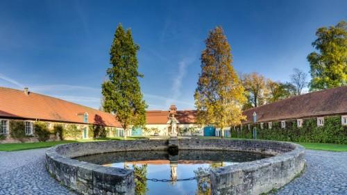 Innenhof Schloss Fasanerie in Fulda