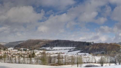 Schlüchtern-Kressenbach im Schnee