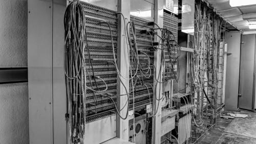 Technik im Natobunker Kindsbach