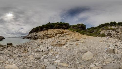 Cala Ratjada, Mallorca, Steinbucht