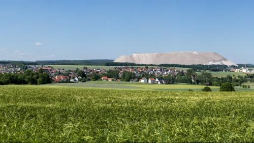 Kaliberg in Neuhof Nähe Fulda (Hesssen)
