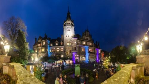 Weihnachtsmarkt auf Schloss Ramholz