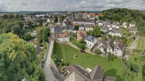 Blick von der Burg Plankenstein